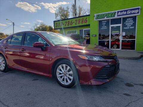 2019 Toyota Camry for sale at Empire Auto Group in Indianapolis IN