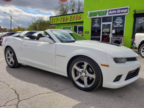 2014 Chevrolet Camaro for sale at Empire Auto Group in Indianapolis IN