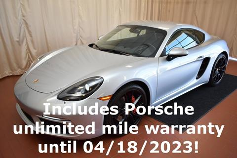 2017 Porsche 718 Cayman for sale in Okemos, MI