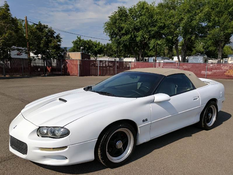 2001 Chevrolet Camaro Z28 2dr Convertible In CARSON CITY NV  East Lot