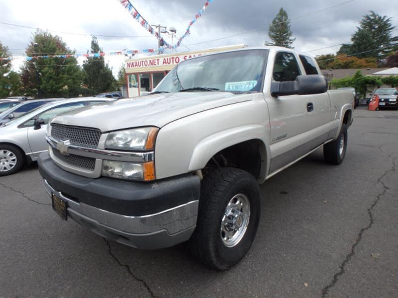 Chevrolet Used Cars Pickup Trucks For Sale Portland Nwauto.net