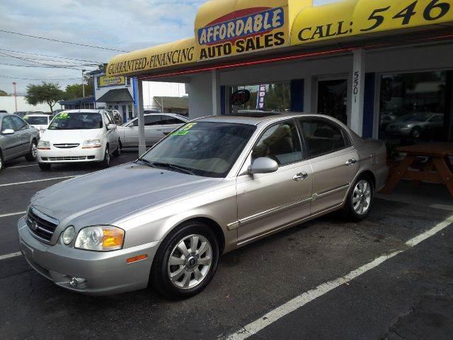 2004 Kia Optima EX V6 4dr Sedan - We Finance Everyone! FL