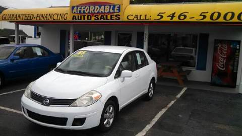 2008 Nissan Versa for sale at AFFORDABLE AUTO SALES in We Finance Everyone! FL