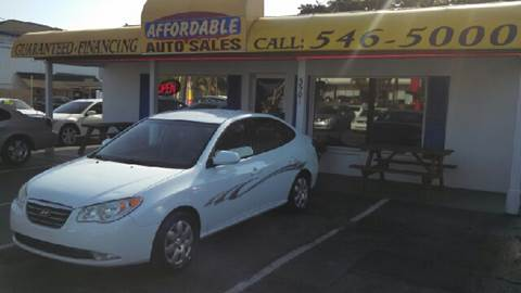 2008 Hyundai Elantra for sale at AFFORDABLE AUTO SALES in We Finance Everyone! FL