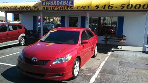2009 Toyota Camry for sale at AFFORDABLE AUTO SALES in We Finance Everyone! FL