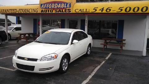 2008 Chevrolet Impala for sale at AFFORDABLE AUTO SALES in Saint Petersburg FL