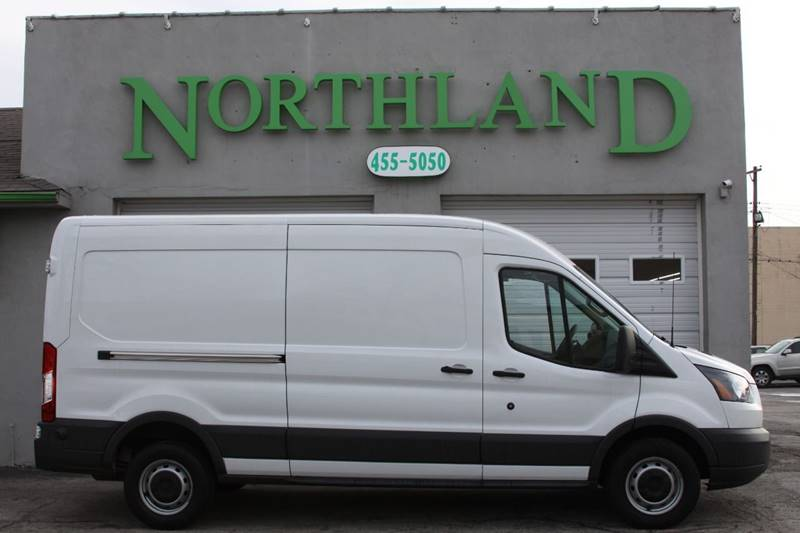 95159f6d01 2018 Ford Transit Cargo 250 3dr LWB Medium Roof Cargo Van w Sliding  Passenger Side