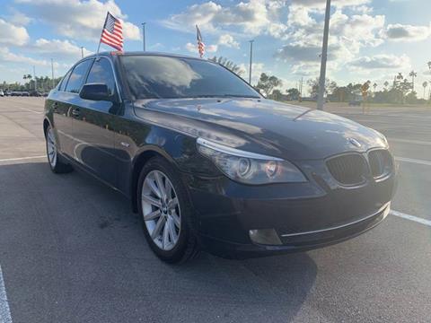 2010 BMW 5 Series for sale in Hialeah, FL