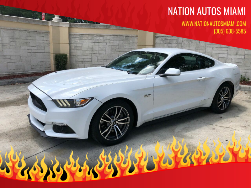 2017 Ford Mustang GT 2dr Fastback - Hialeah FL