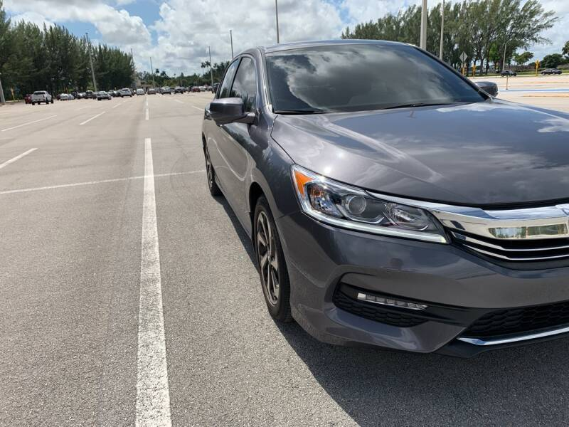 2017 Honda Accord EX-L 4dr Sedan - Hialeah FL