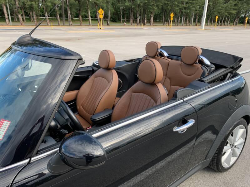 2013 MINI Convertible Cooper S 2dr Convertible - Hialeah FL