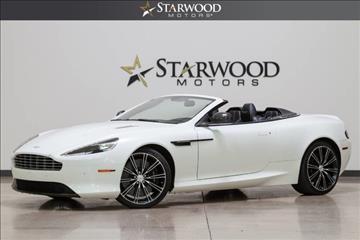 2015 Aston Martin DB9 for sale in Dallas, TX