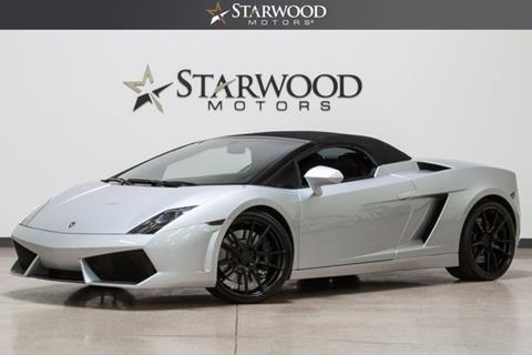 2010 Lamborghini Gallardo for sale in Dallas, TX