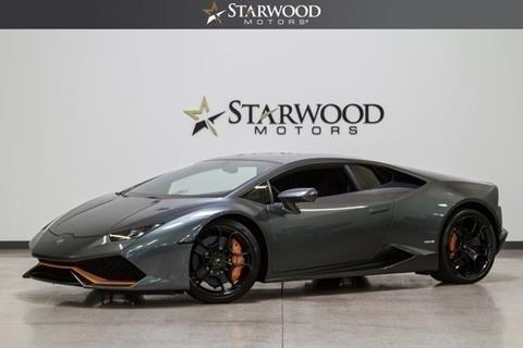 2015 Lamborghini Huracan for sale in Dallas, TX