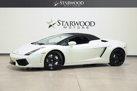 2007 Lamborghini Gallardo for sale in Dallas, TX