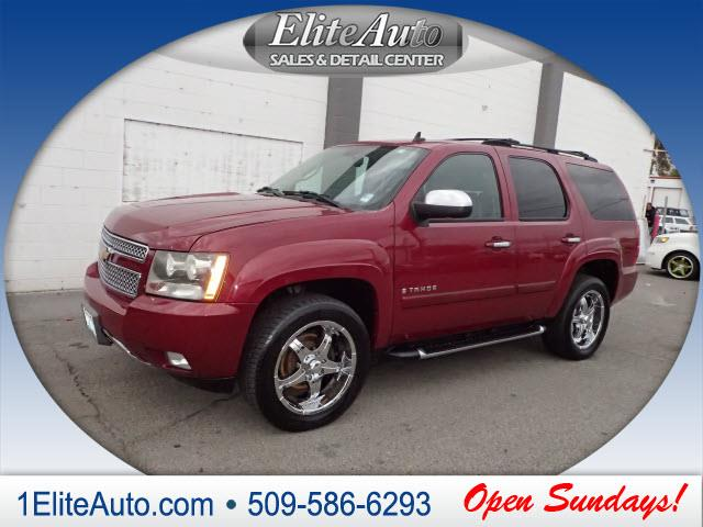 2007 CHEVROLET TAHOE LT 4DR SUV maroon what a deal  carfax title history report is the industry