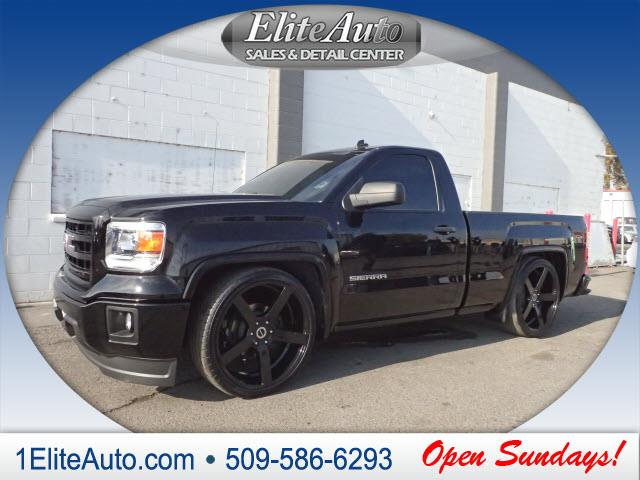 2014 GMC SIERRA 1500 black call asap  this one wont last long  have confidence when purchasing