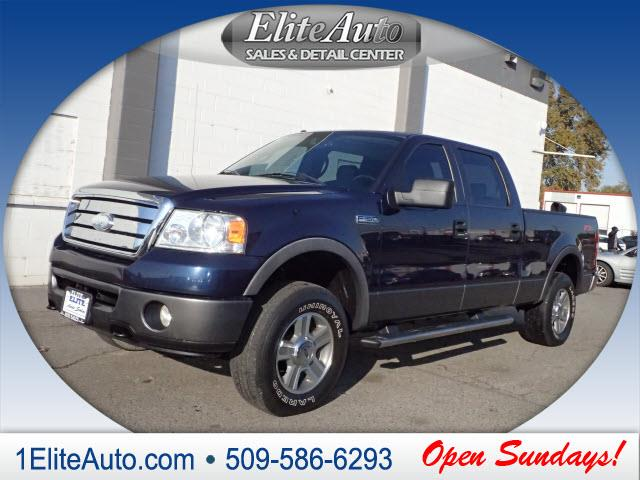 2006 FORD F-150 FX4 blue have confidence when purchasing your next ride a carfax report is inclu