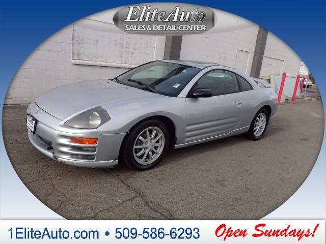 2000 MITSUBISHI ECLIPSE GS 2DR HATCHBACK silver call today to schedule your t