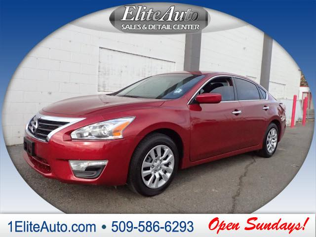 2014 NISSAN ALTIMA 25 S 4DR SEDAN red get it while its hot  rest assured when purchasing this