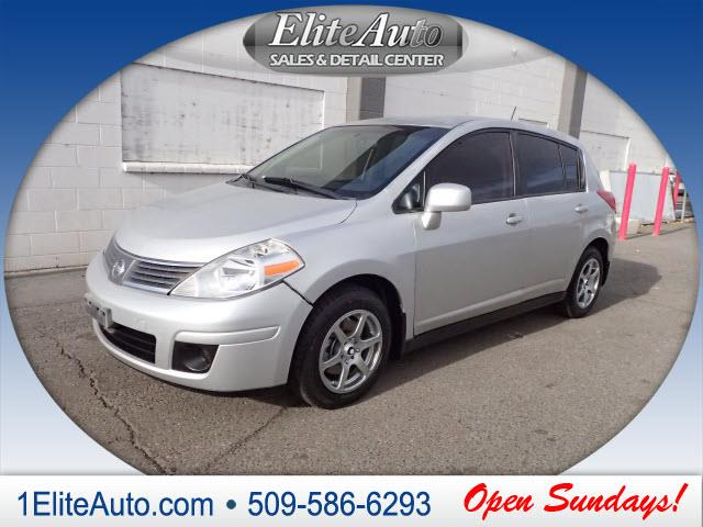 2007 NISSAN VERSA 18 S 4DR HATCHBACK 18L I4 4A silver another amazing dealjump on it quick