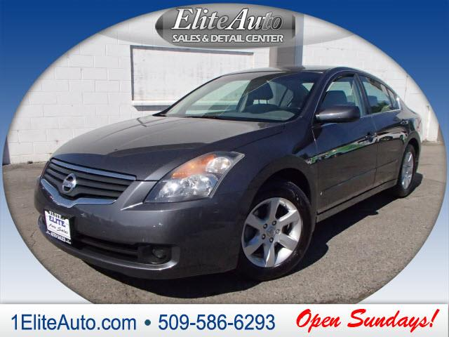 2007 NISSAN ALTIMA 25 S gray you better not buy until you see this 2007 altima  the title check