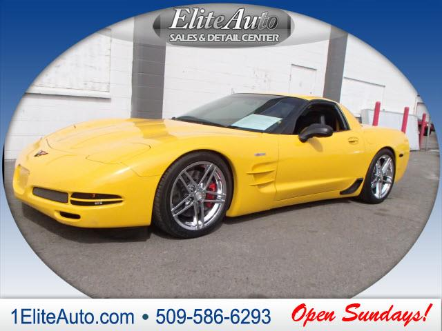 2004 CHEVROLET CORVETTE Z06 2DR COUPE yellow jd power gave this 2004 corvette a power circle rati
