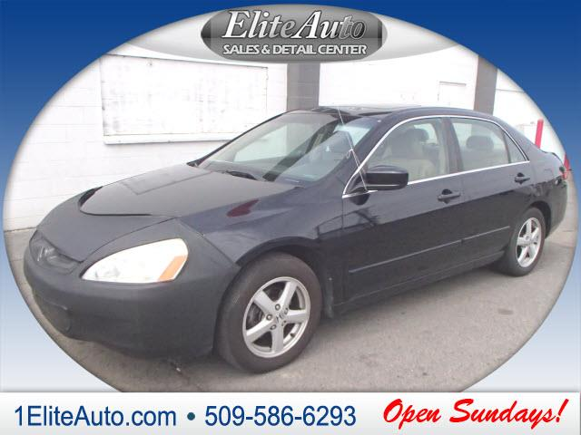 2004 HONDA ACCORD EX WLEATHER 4DR SEDAN WLEATHER black get it while its hot  jd power gave th