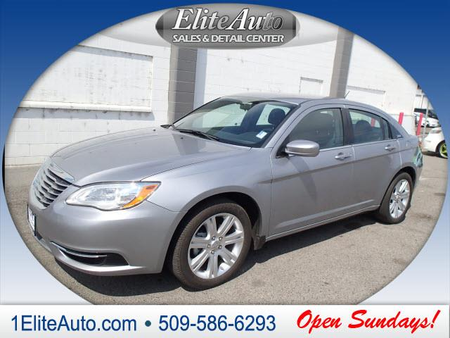 2013 CHRYSLER 200 TOURING 4DR SEDAN silver this baby is going to fly off the lot at this price