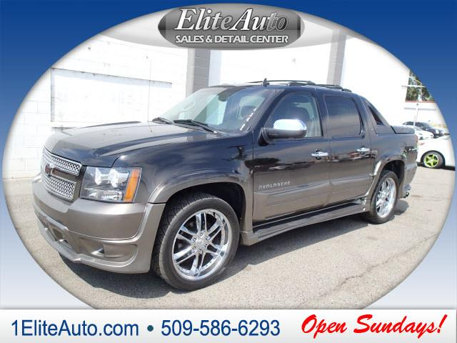 2011 CHEVROLET AVALANCHE LTZ 4X2 4DR CREW CAB PICKUP black does this deal seem too good to be tru