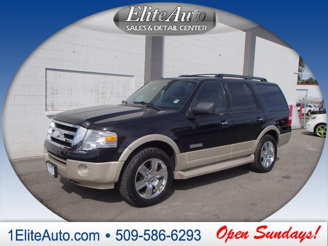 2007 FORD EXPEDITION EDDIE BAUER 4DR SUV 4X4 black ford has always offered one of the best pick-u