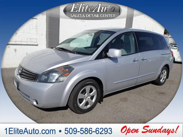 2007 NISSAN QUEST 35 S 4DR MINI VAN silver carfax title history report is the industry leader in
