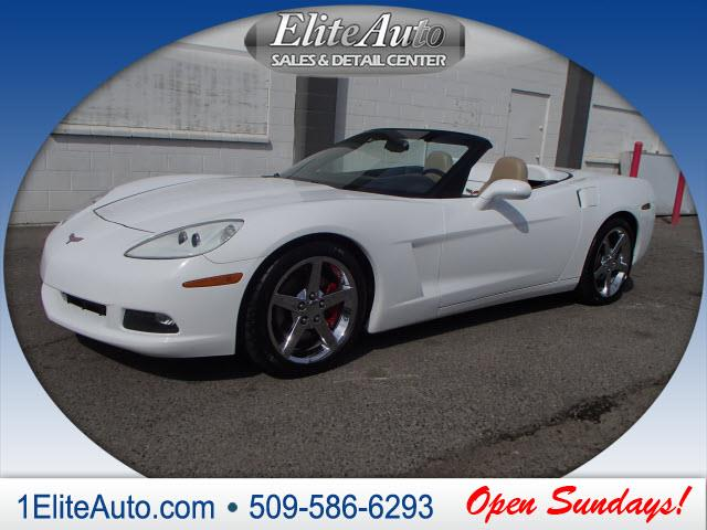 2006 CHEVROLET CORVETTE BASE 2DR CONVERTIBLE white you dont see deals like this every day  jd p