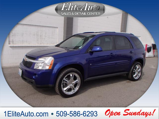 2007 CHEVROLET EQUINOX LT AWD 4DR SUV blue some things are too hard to pass up  the 2007 equinox