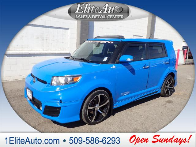 2011 SCION XB blue buy with confidence this 2011 xbs story can be verified with a carfax title
