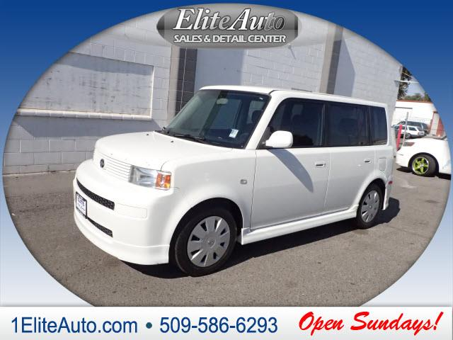 2006 SCION XB BASE 4DR WAGON WAUTOMATIC white bringing you deals day in and day out  carfax tit
