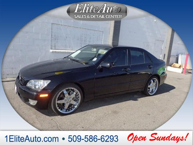 2004 LEXUS IS 300 BASE 4DR SEDAN black buy with confidence this 2004 is 300s story can be verif