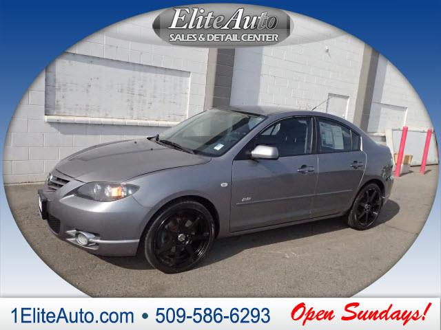 2005 MAZDA MAZDA3 S 4DR SEDAN gray this 2005 mazda3 is going to fly off the lot come see it whil