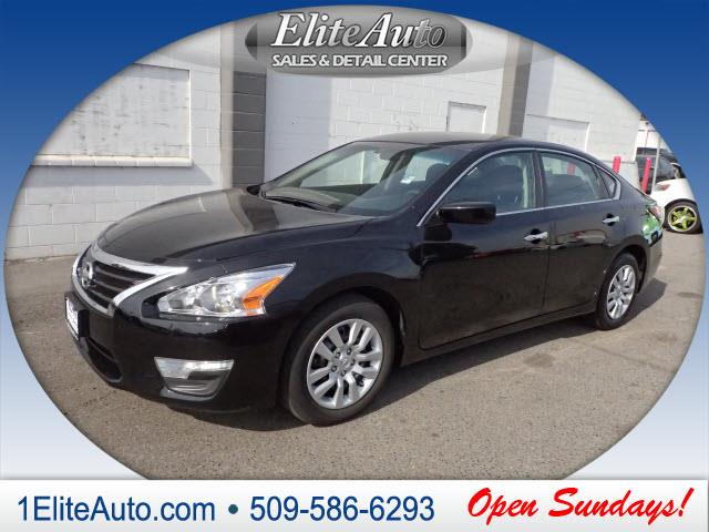 2014 NISSAN ALTIMA 25 S 4DR SEDAN black carfax says the 2014 altima has had only one previous ow