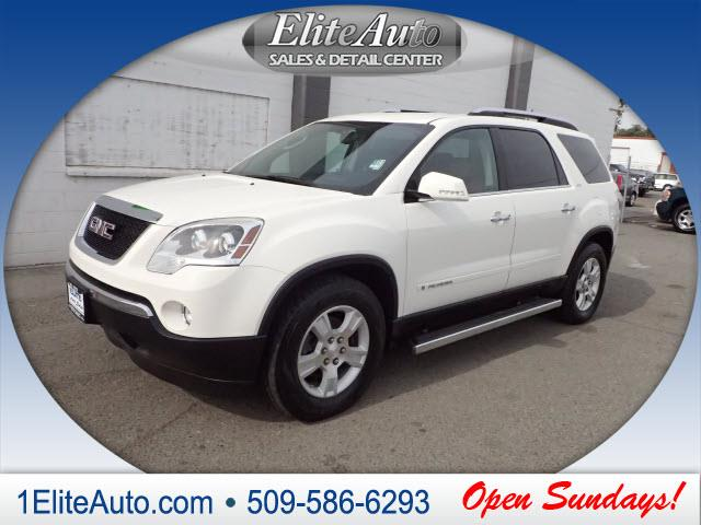 2007 GMC ACADIA SLT-2 AWD 4DR SUV white bringing you deals day in and day out  the new 2007 gmc