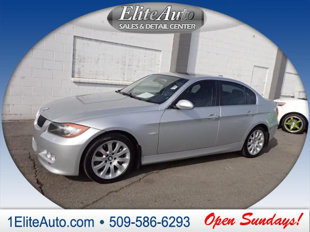 2007 BMW 3 SERIES 335XI AWD 4DR SEDAN LUXURY silver the 2007 bmw 3-series continues to be the ben