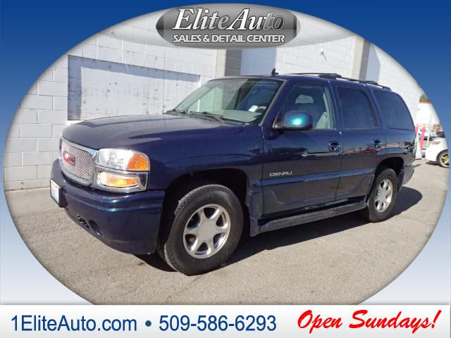 2006 GMC YUKON DENALI AWD 4DR SUV teal you dont see deals like this every day  jd power gave th