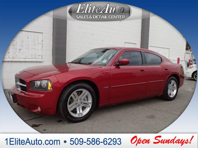 2006 DODGE CHARGER RT 4DR SEDAN red jd power gave this 2006 charger a power circle rating of 5 in