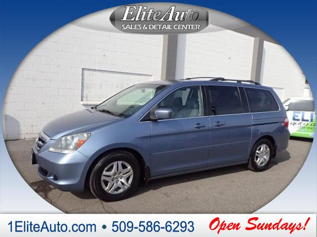 2006 HONDA ODYSSEY EX-L WNAVI WDVD 4DR MINI VAN A blue this baby is going to fly off the lot at