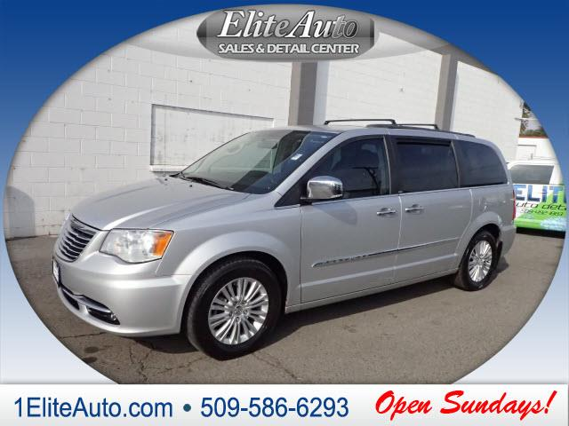 2011 CHRYSLER TOWN AND COUNTRY TOURING-L 4DR MINI VAN silver the re-engineere