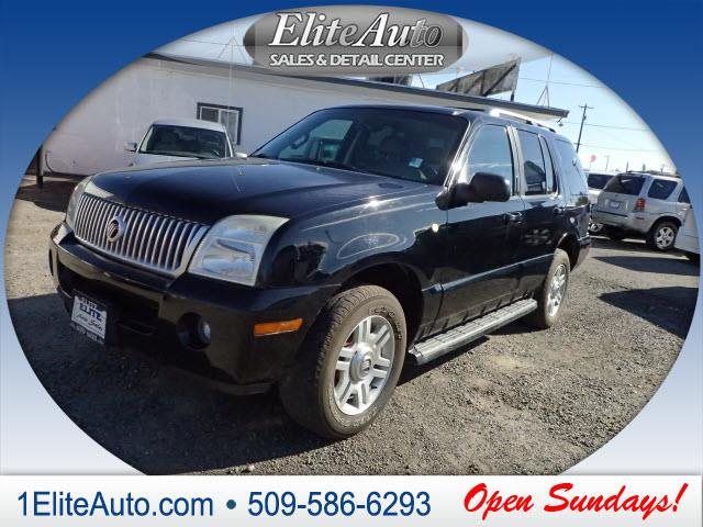 2003 MERCURY MOUNTAINEER BASE AWD 4DR SUV black buy with confidence thanks to a carfax title his