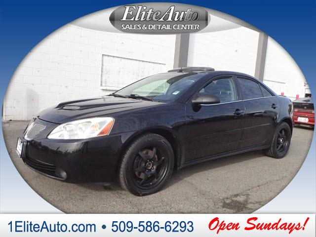 2005 PONTIAC G6 GT 4DR SEDAN black jd power gave this 2005 g6 a power circle rating of 5 in perfo