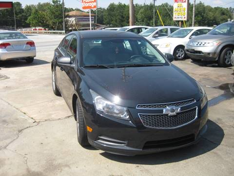 2012 Chevrolet Cruze for sale in Forest Park, GA