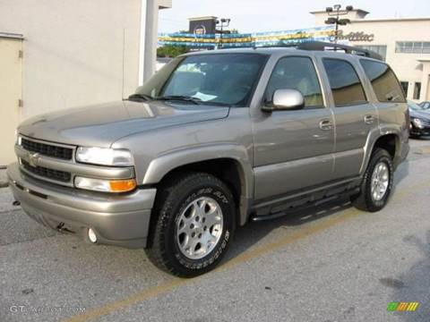 2002 Chevrolet Tahoe for sale at LAKE CITY AUTO SALES in Forest Park GA