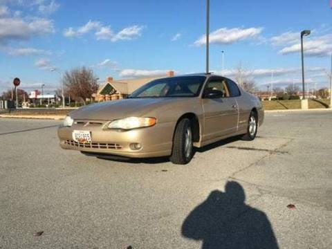 2003 Chevrolet Monte Carlo for sale at LAKE CITY AUTO SALES in Forest Park GA
